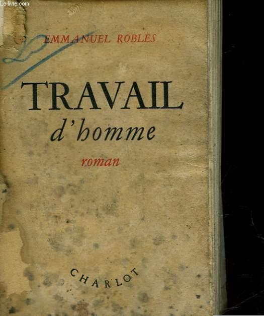 TRAVAIL D'HOMME