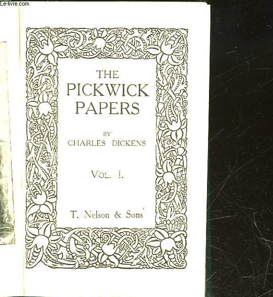 THE PICKICK PAPERS - VOL 1