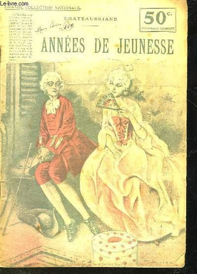 ANNEES DE JEUNESSE