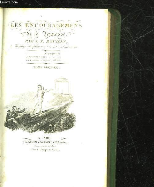 LES ENCOURAGEMENS DE LA JEUNESSE - 2 TOMES