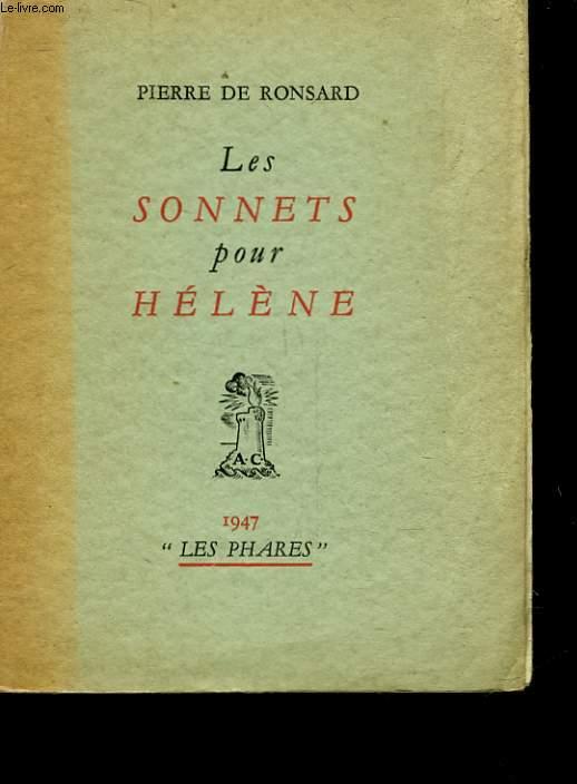 LES SONNETS POUR HELENE