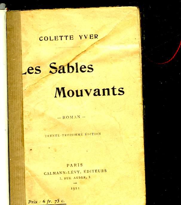 LES SABLES MOUVANTS