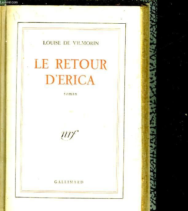 LE RETOUR D'ERICA