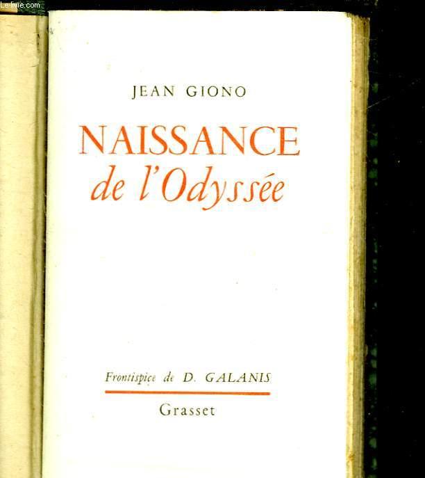 NAISSANCE DE L'ODYSSEE