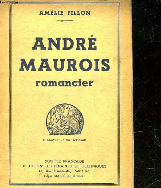ANDRE MAUROIS ROMANCIER