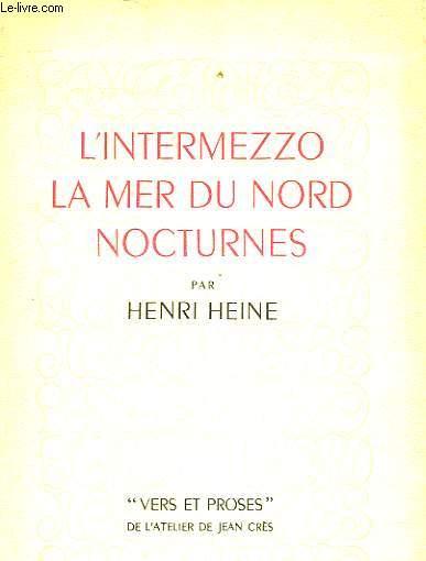 L'INTERMEZZO - LA MER DU NORD - NOCTURNES