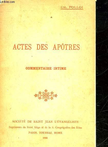 ACTES DES APOTRES