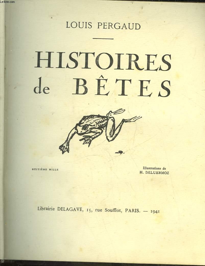 HISTOIRES DE BETES