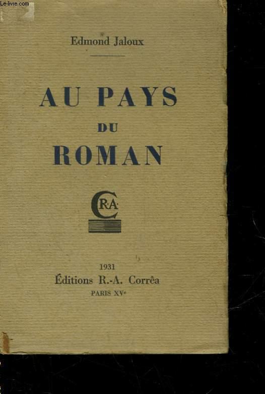 AU PAYS DU ROMAN