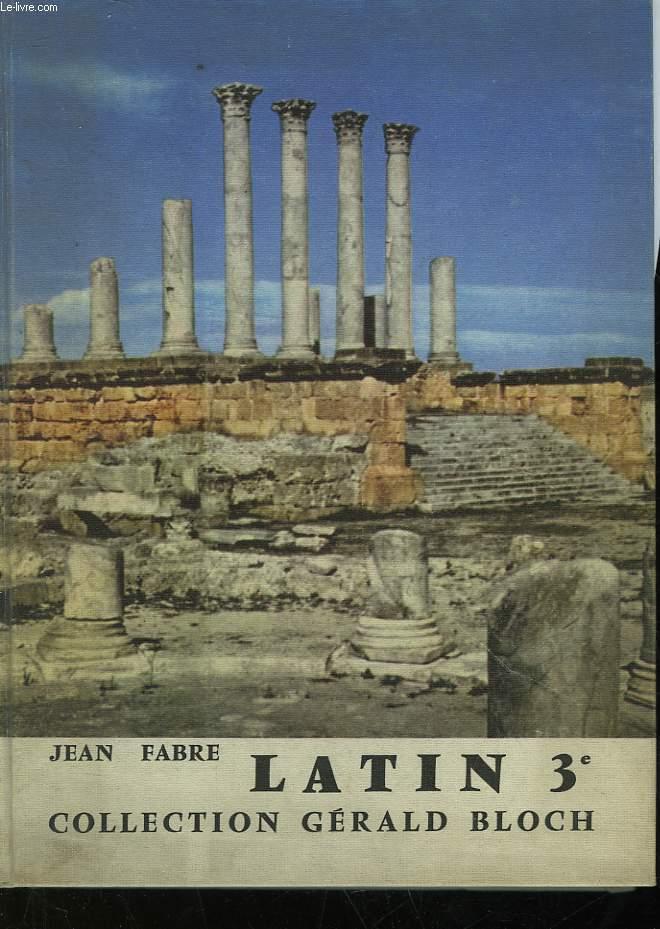 LATIN - CLASSE DE 3