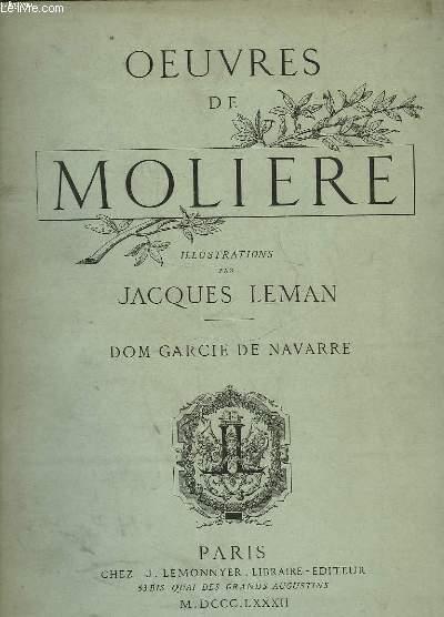OEUVRES DE MOLIERE - DOM GARCIE DE NAVARRE
