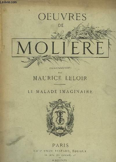 OEUVRES DE MOLIERE - LE MALADE IMAGINAIRE