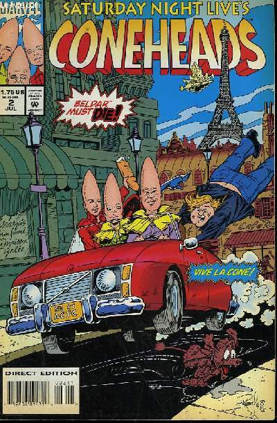CONEHEADS - VOL 1 - N°2 - THERE GOES THE NEIGHBORHOOD