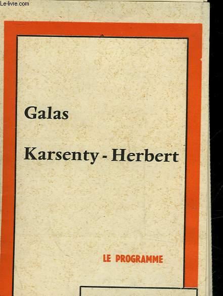1 PROGRAMME - GALAS - KARSENTY - HEBERT -