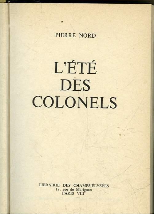 L'ETE DES COLONELS