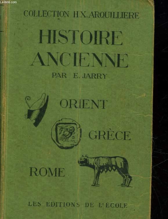 ORIENT, GRECE ROME - CLASSE DE 6°