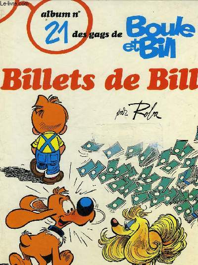 BOULE ET BILL - BILLETS DE BILL