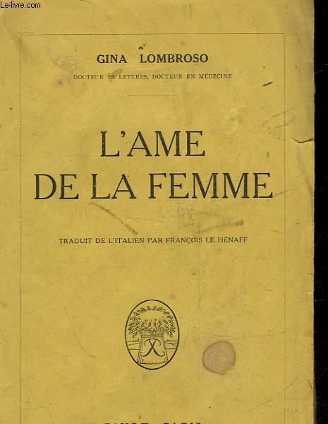L'AME DE LA FEMME