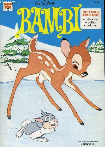 BAMBI - COLLAGE AMUSANTS