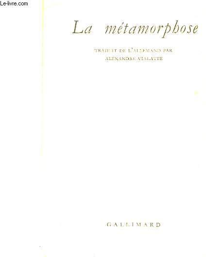 LA METAPHORMOSE