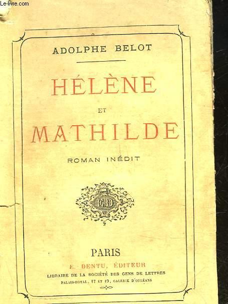 HELENE ET MATHILDE