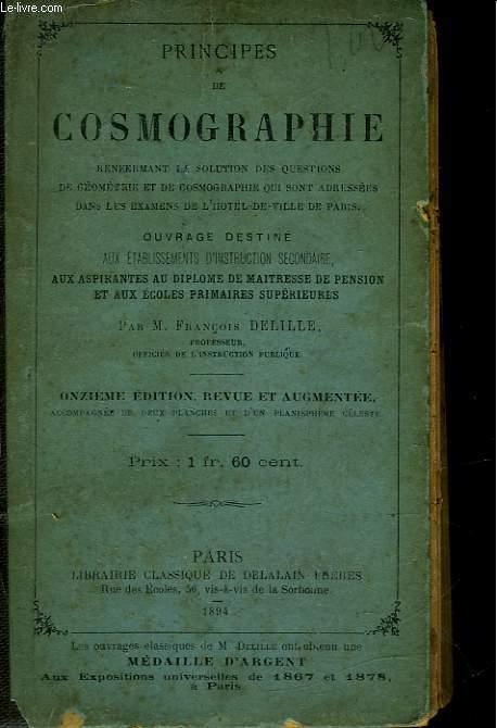 PRINCIPES DE COSMOGARPHIE