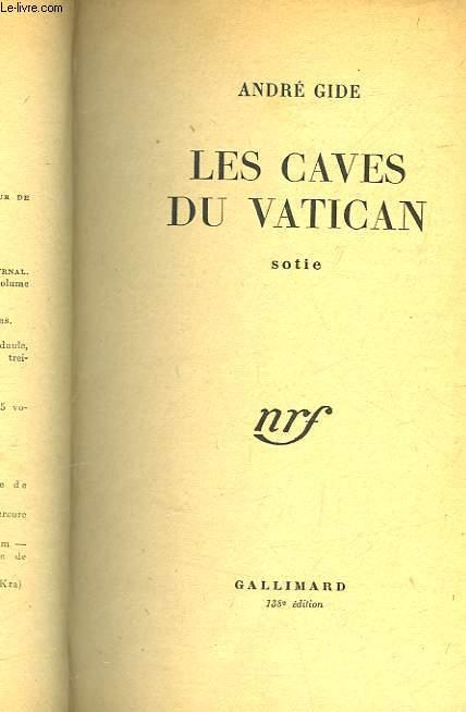 LES CAVES DU VATICAN - SOTIE