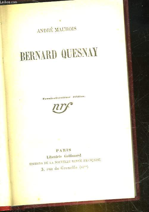 BERNARDQUESNAY