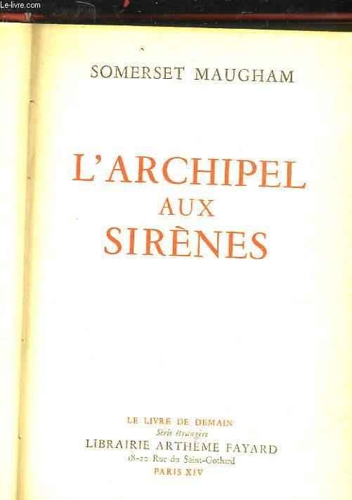 L'ARCHIPEL AUX SIRENES