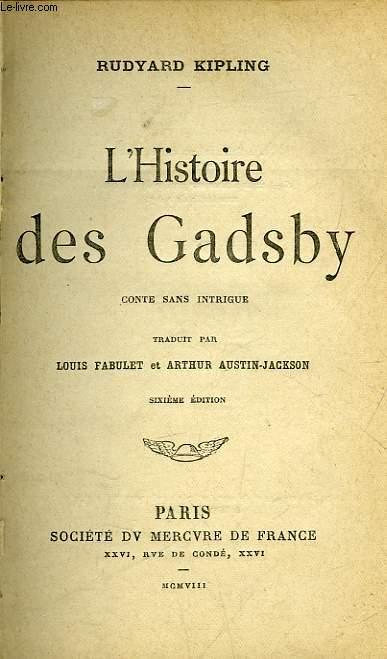L'HISTOIRE DES GADSBY