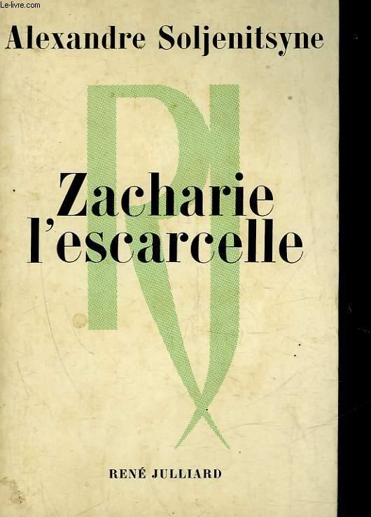 ZACHARIE L'ESCARCELLE ET AUTRES RECITS