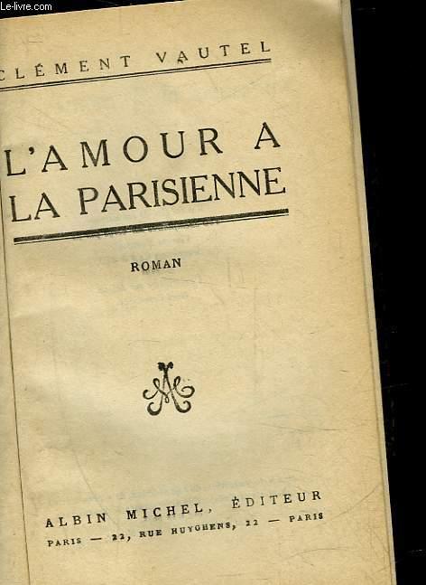 L'AMOUR A LA PARISIENNE
