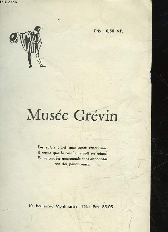 1 PROGRAMME - MUSEE GREEVIN