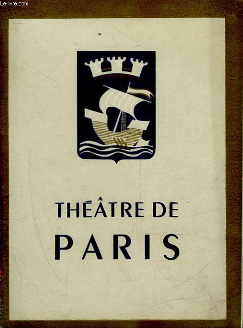 1 PROGRAMME - THEATRE DE PARIS - THE ET SYMPATHIE