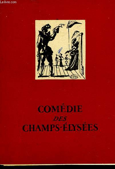 1 PROGRAMME - COMEDIE DES CHAMPS-ELYSEES - CLERAMBARD