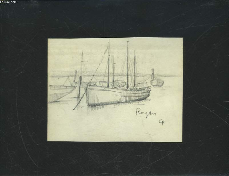 1 DESSIN ORIGINAL - ROYAN