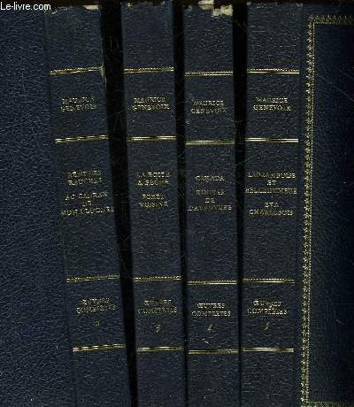 OEUVRES COMPLETES - 18 TOMES (MANQUE TOME 1, 2, 7, 18, 19 et 20) - POSSIBILITE DE VENTE AU VOLUME