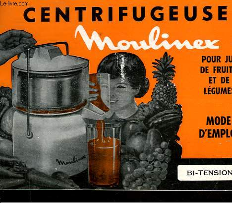 centrifugeuse moulinex pour jus de fruits et de legumes mode d emploi bi tension collectif. Black Bedroom Furniture Sets. Home Design Ideas