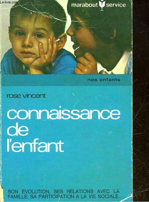 CONNAISSANCE DE L'ENFANT