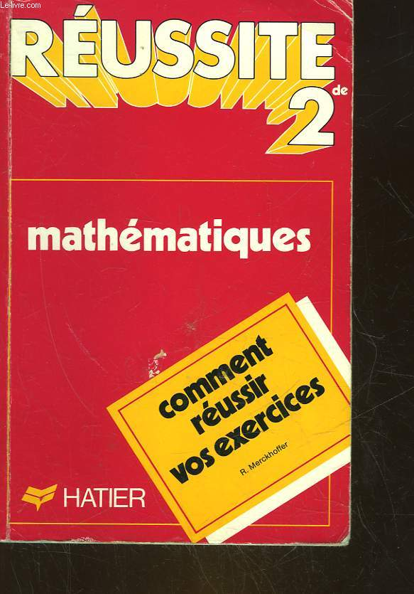 MATHEMATIQUES SECONDE