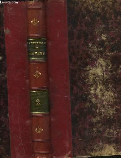CHEFS D'OEUVRE DE P. CORNEILLE - TOME 2