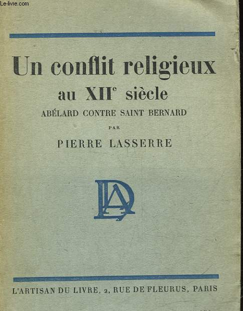 UN CONFLIT RELIGIEUX AU 12° SIECLE