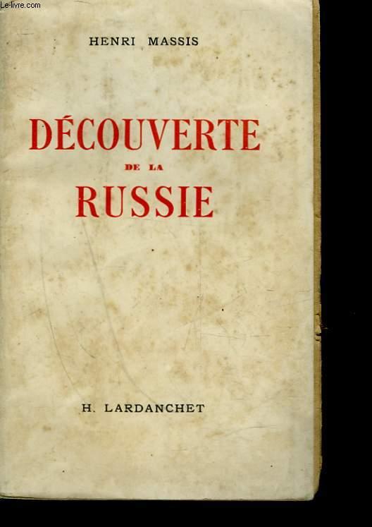 DECOUVERTE DE LA RUSSIE