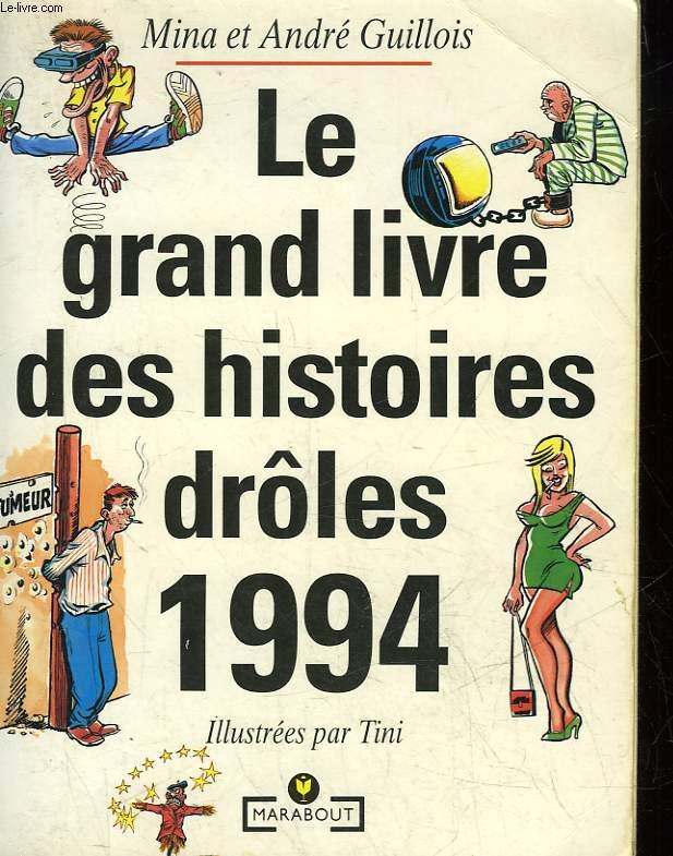 LE GRAND LIVRE DES HISTOIRES DROLES 19894