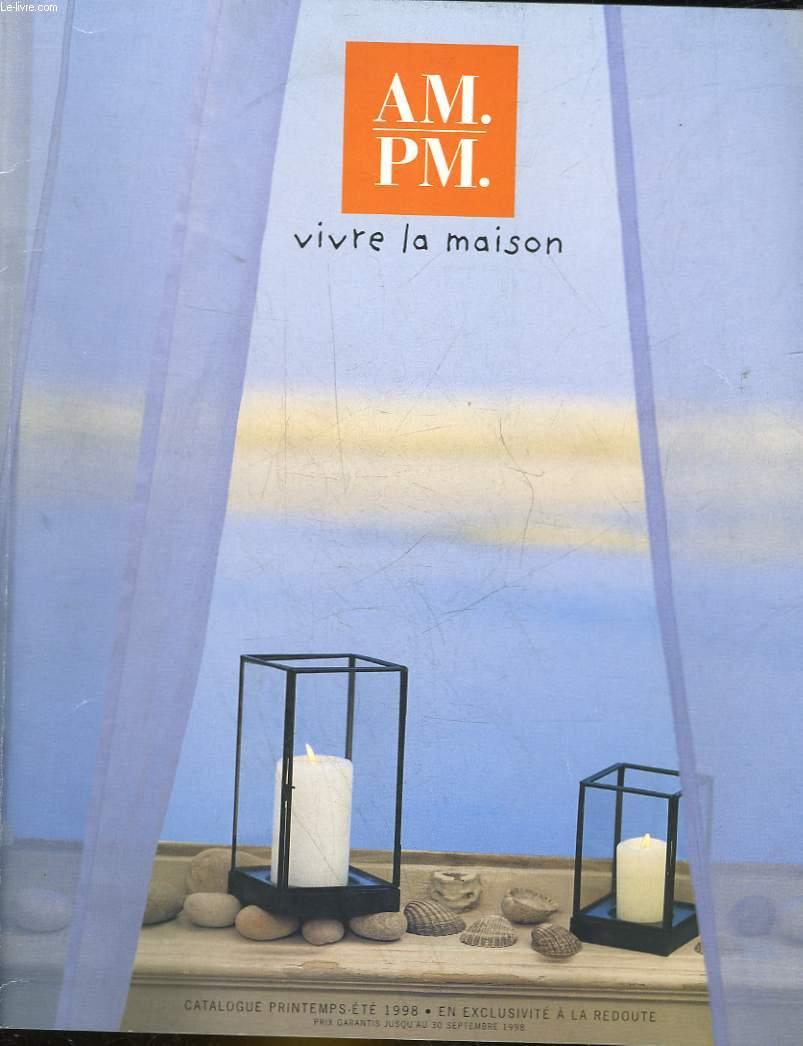 am. pm. - vivre a la maison de collectif   achat livres - ref