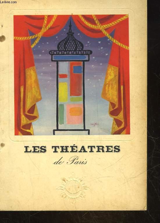 LES THEATRES DE PARIS