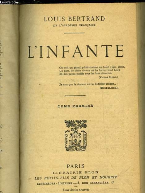 L'INFANTE - TOME 1