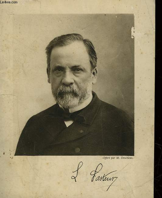1 PHOTO ANCIENNE - LOUIS PASTEUR