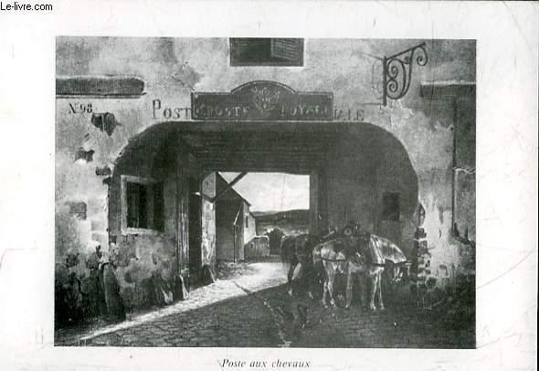 1 CARTE - COLLECTION MUSEE DE LA POSTE - POSTE AUX CHEVAUX