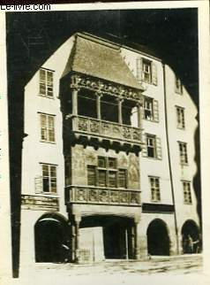 1 PHOTO ANCIENNE SITUEE - INNSBRUCK, GOLDENES DACHL